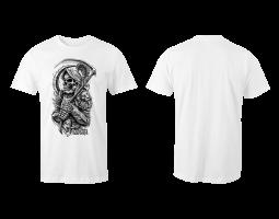Dámské tričko ROA - bílé (bez potisku zad)