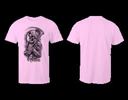 Dámské tričko ROA - růžové (bez potisku zad)