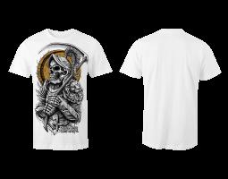 Pánské tričko ROA - bílé (bez potisku zad)